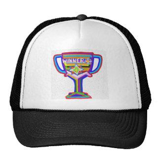 Winner Trophy:  Acrylic Art Mesh Hats