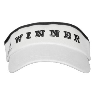 Winner - White Visor