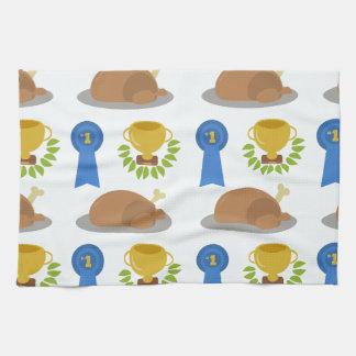 Winner Winner Chicken Dinner Pattern Kitchen Towel