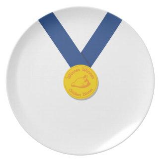 Winner Winner Chicken Dinner Plate