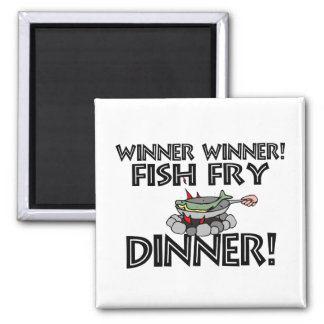 Winner Winner Fish Fry Dinner Magnet
