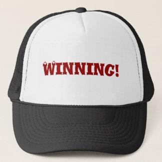 Winner winner trucker hat