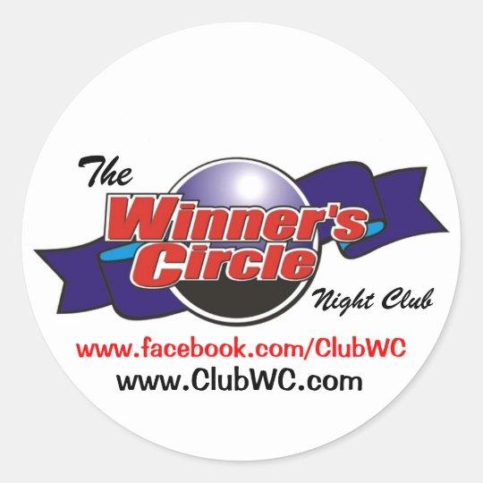 Winners Circle Stickers