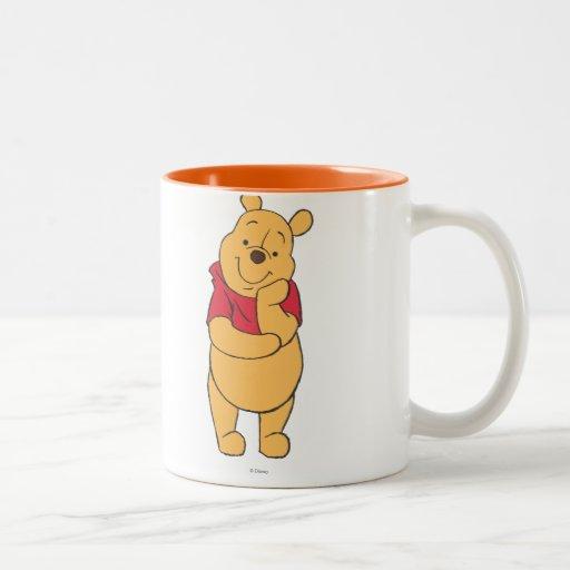 Winnie the Pooh 6 Coffee Mugs