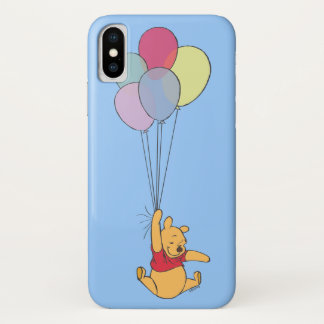 Winnie the Pooh and Balloons iPhone X Case