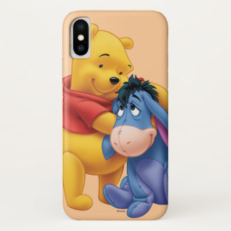 Winnie the Pooh and Eeyore iPhone X Case