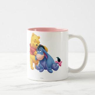 Winnie the Pooh and Eeyore Mugs