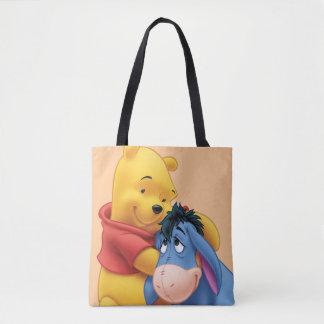 Winnie the Pooh and Eeyore Tote Bag