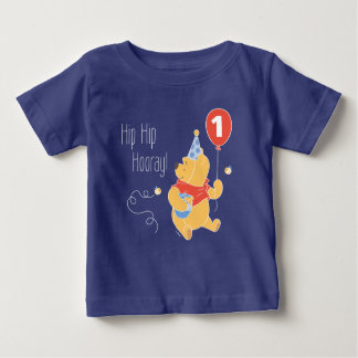 Winnie the Pooh | Baby Boy - First Birthday Baby T-Shirt