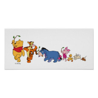 Winnie the Pooh Crew Poster
