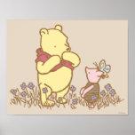 Winnie the Pooh et porcelet classiques 3 Posters