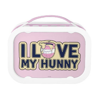 Winnie The Pooh | I Love My Hunny Lunch Boxes