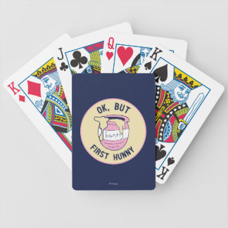Winnie The Pooh | OK, But First Hunny Poker Deck