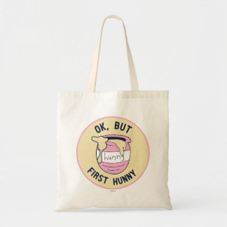 Winnie The Pooh | OK, But First Hunny Tote Bag