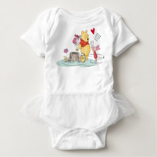 Winnie the Pooh & Piglet   Sweet Like Honey Baby Bodysuit
