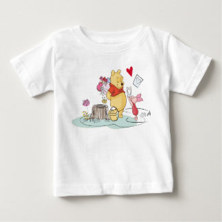 Winnie the Pooh & Piglet | Sweet Like Honey Baby T-Shirt
