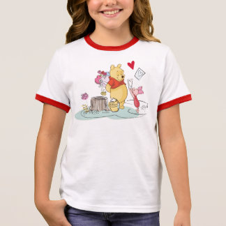 Winnie the Pooh & Piglet | Sweet Like Honey Ringer T-Shirt