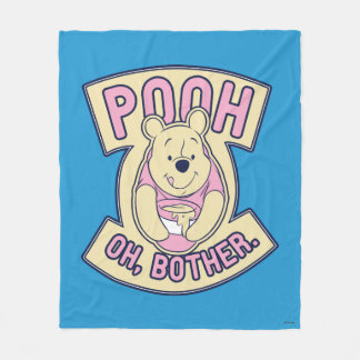 Winnie The Pooh | Pooh Oh Bother Fleece Blanket
