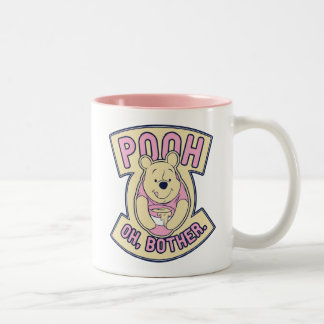 Winnie The Pooh | Pooh Oh Bother Two-Tone Coffee Mug