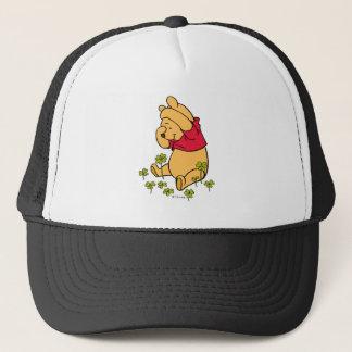 Winnie the Pooh - Shamrock | St. Patrick's Day Trucker Hat