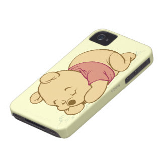 Winnie the Pooh Sleeping iPhone 4 Case