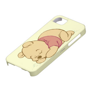 Winnie the Pooh Sleeping iPhone 5 Covers