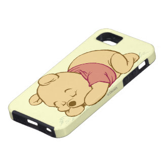Winnie the Pooh Sleeping iPhone 5 Covers