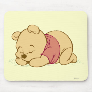 Winnie the Pooh Sleeping Mouse Pad