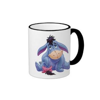 Winnie The Pooh's Eeyore Holding Tail Ringer Coffee Mug