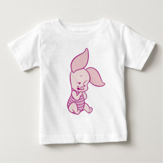 Winnie The Pooh's Piglet sitting Baby T-Shirt