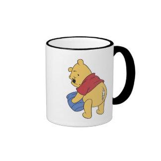 Winnie The Pooh's Pooh Ripped Seam Ringer Coffee Mug