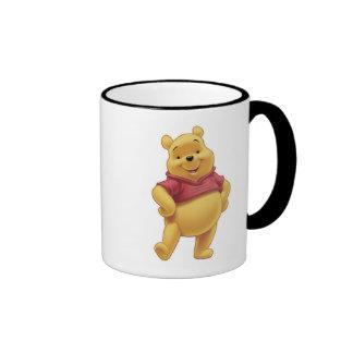Winnie The Pooh's Pooh Walking Merrily Ringer Coffee Mug