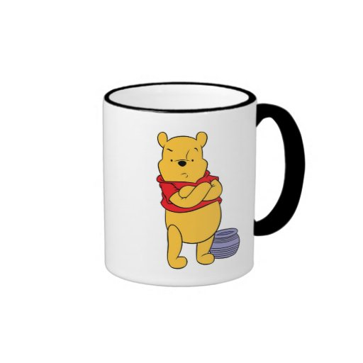 Winnie The Pooh's Pooh With Empty Honeypot Coffee Mug