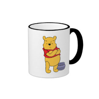 Winnie The Pooh's Pooh With Empty Honeypot Ringer Mug