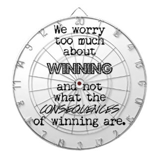 Winning and Consequences Dartboard
