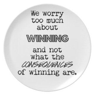 Winning and Consequences Plate