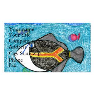 Winning art by  A. Fegers - Grade 4 Business Card