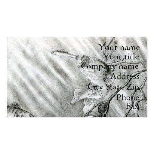 Winning art by  A. Steiger - Grade 10 Business Card