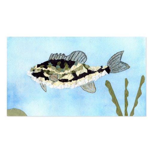 Winning art by  C. Saliga - Grade 4 Business Card Template