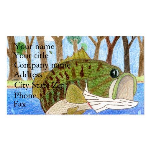 Winning art by  H. Walz - Grade 6 Business Card Templates