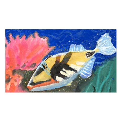 Winning art by  I. Liu - Grade 7 Business Card