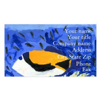 Winning art by  J. Geouge - Grade 5 Business Card