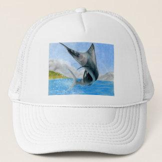 Winning art by  J. Shi - Grade 7 Trucker Hat