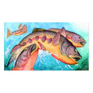 Winning art by  J. Yoo - Grade 8 Business Card