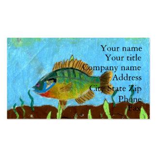 Winning art by  K. Benoit - Grade 4 Business Card