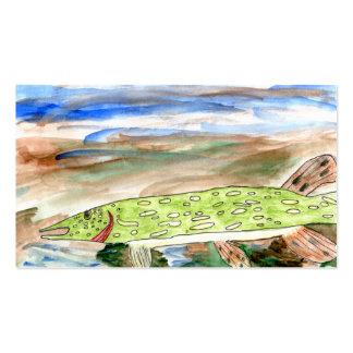 Winning art by  K. Nelsen - Grade 4 Business Card Template