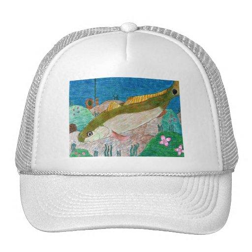 Winning art by  M. Groves - Grade 12 Hats
