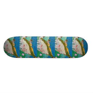 Winning art by  M. Groves - Grade 12 Skateboard Decks