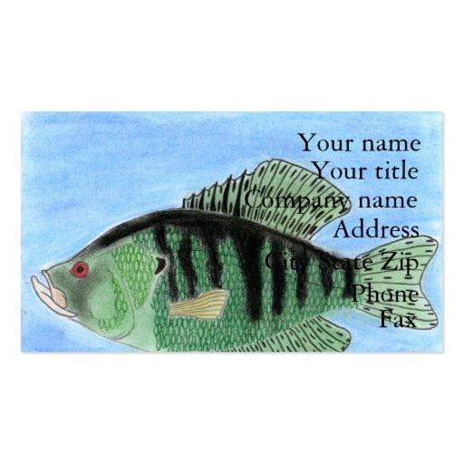 Winning art by  R. Reyes-Williams - Grade 8 Business Card Templates