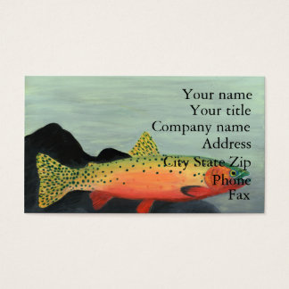 Winning art by  S. Clayton - Grade 7 Business Card